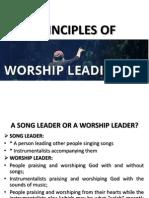 Principles of Worship Leading