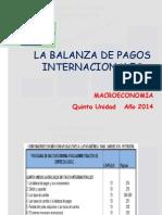 Unidad 5 La Balanza de Pagos Internacionales 2014(2)