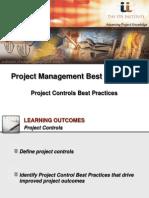IPA Institute Project Controls Best Practices Webinar