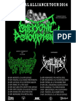 Brutal Alliance Tour 2014