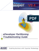 Edeveloper 9.4 Partitioning Troubleshooting Guide