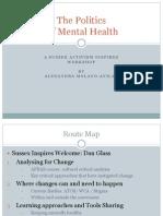 The Politics of Mental Health