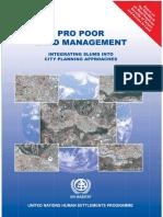 Pro Poor Land Management