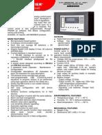 Notifier AM2000N Specification