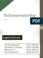 Technopreneurship Pres 2