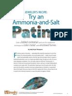 Salt and Ammonia Recipe