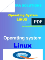 Linux Operating System Ppt