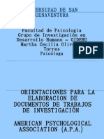 Metodología de la Investigación- Normas APA