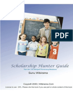 Scholarship Hunter Guide