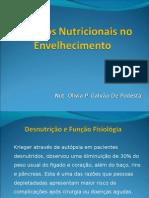 Aspectos Nutricionais no Envelhecimento