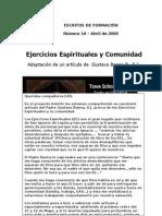 No10 Ejerciciosespiritualesycomunidad Pbaena 04 2005 120909163322 Phpapp02