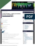 [TUTOR] DECOMPILE + COMPILE APK DENGAN APK TOOL & APK MANAGER _ BlogDanz