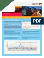 Managing Electricity Spot Price Risk Flyer