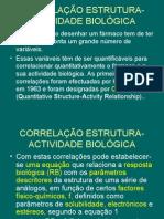 8º-Correlação estrutura-actividade-HIDROFOBIA