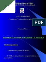 1-Transporte através da membrana