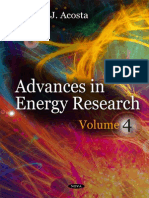 Advance in Energy Research 2011