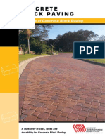 Concrete Block Paving - Dainage of Contrete Block Paving