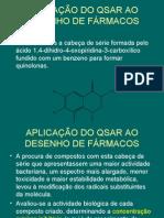 11º-Aplicação de  QSAR ao desenho de fármacos