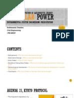 Technological Innovation of Alternative Energy: The SolarPower