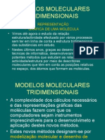 12º-Modelos moleculares tridimensionais