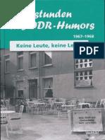 Sternstunden des DDR- Humors / 1967 - 1968