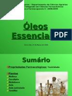 Oleos Essenciais - Daniela e Joana 2003