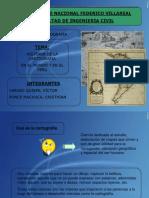 Historia de La Cartografia en El Mundo y El Peru