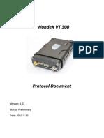 Part of VT300 Protocol Document V101 (20110310)