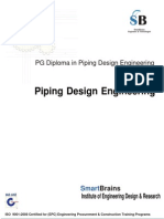 PG Diploma in Piping Design and Autocad Training Course