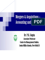 M&a Accounting & Taxation FIIB