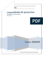 propuesta seguimiento proyectos