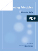 Fme Accounting Principles