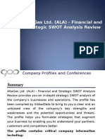 AltaGas Ltd. - Financial and Strategic SWOT Analysis Review
