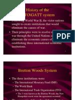 History of the WTO\GATT System