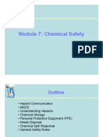 Module 7 Chemical Safety