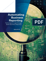 Automating Business Reporting