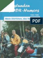 Sternstunden des DDR- Humors / 1983 - 1984