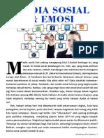 MEDIA SOSIAL YANG MEMBUAT JENGKEL EMOSI ANDA by Anthony Dio Martin