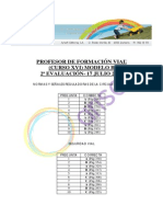 Corrector Modelo B - Segunda Evaluación Curso XVI