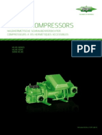 Semi-Hermetic Screw Compressors (Vijcani)