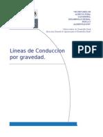 Ficha Técnica Linea de Conducción a Gravedad