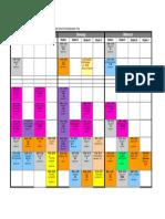 Stundenplan Juni 2014
