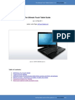 eBook the Ultimate Touch Tablet Guide
