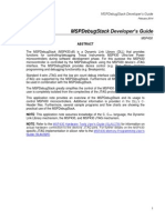 MSP430 DLL Developer's Guide