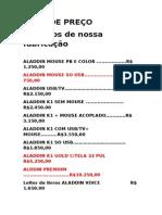Lista de Preço Julho2014 Rd (2)
