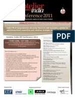 Brochure-Hotelier India HR Conference 2011