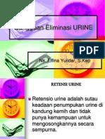 Gangguan Eliminasi Urine