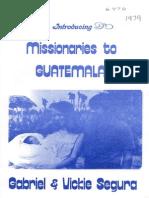 Segura Gabriel Vickie 1979 Guatemala