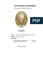 Informe Proyecto Final Lpe