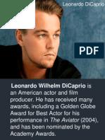 Leonardo DiCaprio.ppt